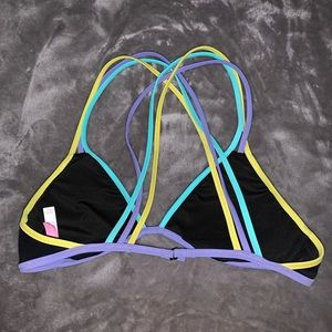 Victoria's Secret strappy bikini top NWOT